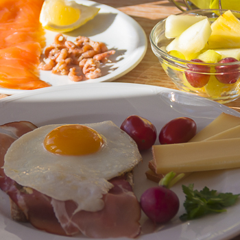 Frühstück im LINDENHOF